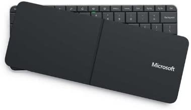 Windows U6R-00011 - Teclado Bluetooth Español (29,8 x 14,2 x 5 cm), Negro