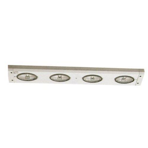 WAC Lighting BA-X4-SN Xenon Bar Under Cabinet Light (Satin Nickel Finish)