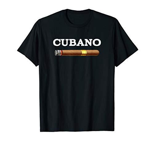 - Cuban Cigar Cubano Smoking Tobacco Gift for Smoker T-Shirt