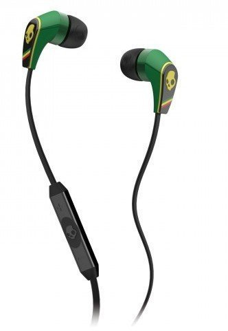 Skullcandy 50/50 Earphone with Mic for Ipod/Iphone/Ipad-Rasta