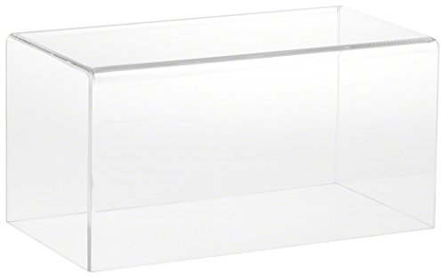 Plymor Clear Acrylic Display Case with No Base, 10 W x 5 D x 5 H