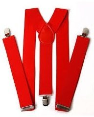 [Red Suspenders (Standard)] (Mime For Halloween)