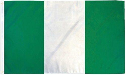 TrendyLuz Flags Nigeria Nigerian National Country Banner Fla