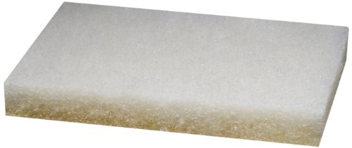 Scotch-Brite(TM) Aircraft Cleaning Pad, 10'' Length x 4-5/8'' Width, White  (Pack of 100) by 3M