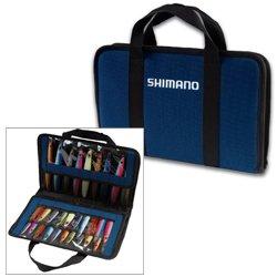 SHIMANO Butterfly Jig Storage Bag - Navy Blue - Medium (Butterfly Flat Fall Jig)