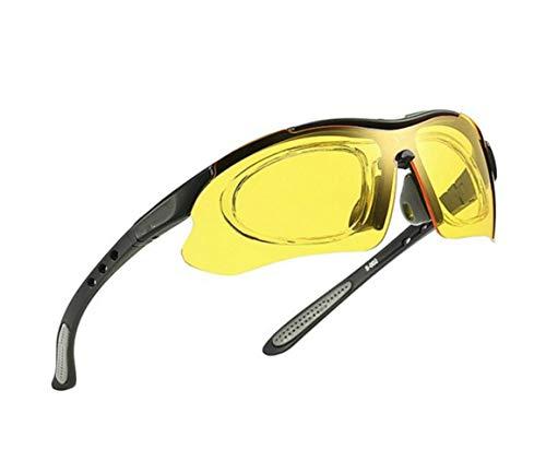 protección de Mujeres viajar sol Guay Yellow Sprot Hombres sol de visión libre para Amarillo aire UV400 Gafas sol de nocturna de Gafas Huyizhi al Ciclismo Gafas de wt4RBxwzq