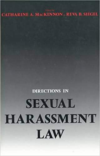 Sexual Harassment Law Uk