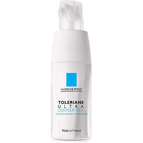 La Roche-Posay Toleriane Ultra Soothing Eye Cream for Very Sensitive Eyes, 0.66 Fl. Oz.