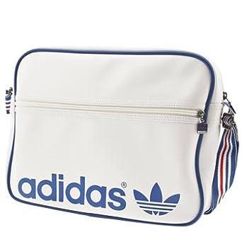 2ded4034d533 Adidas Original AC Airline White Blue Red Team GB Men Womens Unisex  Shoulder Bag  Amazon.co.uk  Clothing