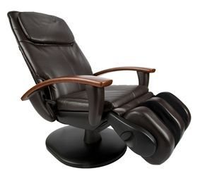 Human Touch HT-3300 Wood-Accent Massage Chair, Espresso Color Option