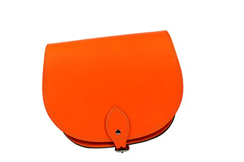 ANU®, Borsa a secchiello donna small Flourescent Orange