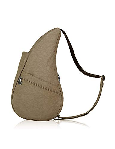 AmeriBag Classic Healthy Back Bag Tote Distressed Nylon Small (Taupe)