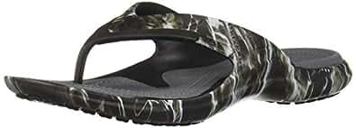 Crocs Unisex-Adult 205922-001 Modi Sport Mossy Oak Elements Black Size: 6 M US Women / 4 M US Men