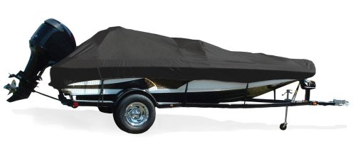 (Taylor Made Products Trailerite Semi-Custom Boat Cover for Tournament Bass Fishing Boats with Outboard Motors (19'5