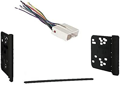 Amazon.com: Compatible with Ford Crown Victoria 2003 2004 2005 2006 2007  2008 2009 2010 2011 Double DIN Car Stereo Harness Radio Dash Kit: Car  ElectronicsAmazon.com