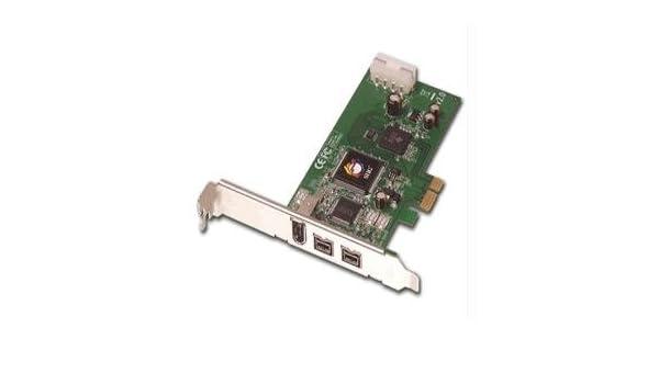 SIIG IO Card NN-FW0012-S1 9pin 6pin FireWire adapter 800 PCI-E RoHS Controller Card