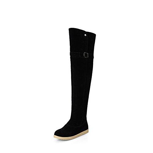1TO9 Stivali da Neve Donna, Nero (Black), 35 EU