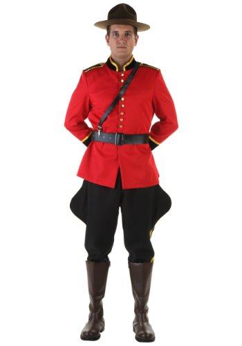 Mountie Costume Fancy Dress (Plus Size Canadian Mountie Costume 2X)