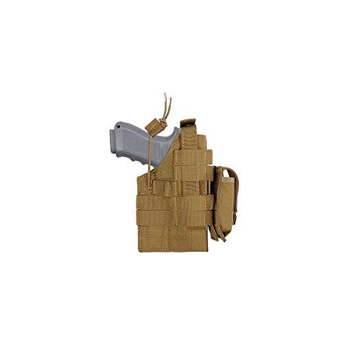 Condor COYOTE BROWN GLOCK Ambidextrous MOLLE Pistol Handgun