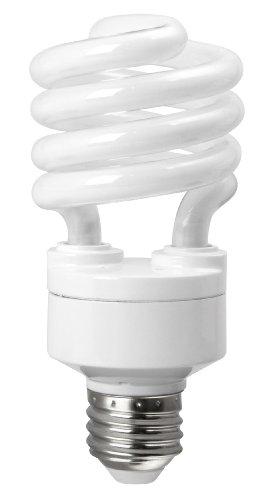 (TCP 5801865k CFL Spring Lamp - 75 Watt Equivalent (only 18W used!) Daylight (6500K) TruStart Spiral Light Bulb)