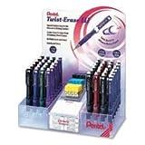 Pentel Automatic Pencils, Twist Barrel, Retractable Eraser (QE51579-96)