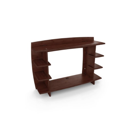 Legare 36-Inch Straight Hutch Desk, Espresso -