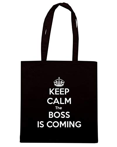 COMING Shopper KEEP BOSS IS THE TKC3134 CALM Borsa Nera OwCxqzn8