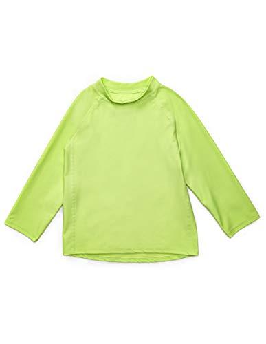 Leveret Long Sleeve Rash Guard (18-24 Months, Green) (Little Boy Shirt Labels)