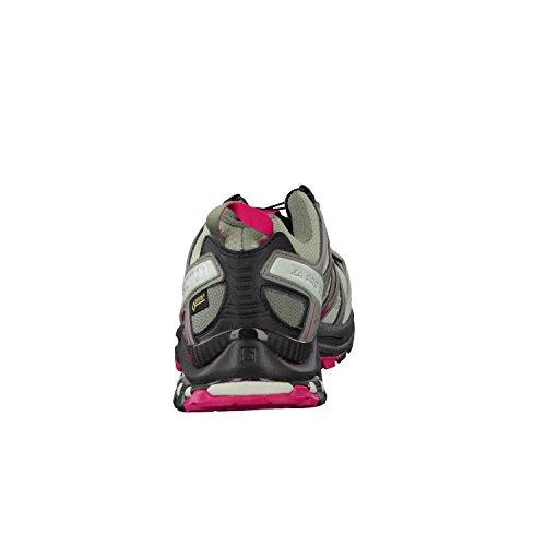 Damen Salomon black Xa 3d Traillaufschuhe sangria Pro Gtx Shadow qfzIq