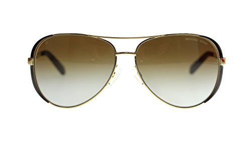 Michael Kors Chealsea Womens Sunglasses M5004 1014T5 Gold Aviator Polarized - Kors Black Aviators Michael