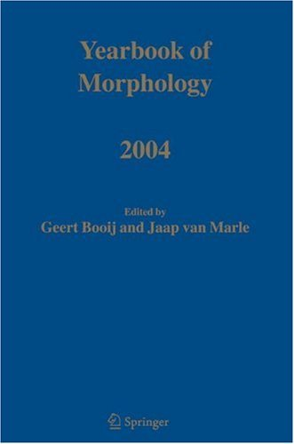 Download Yearbook of Morphology 2004 Pdf