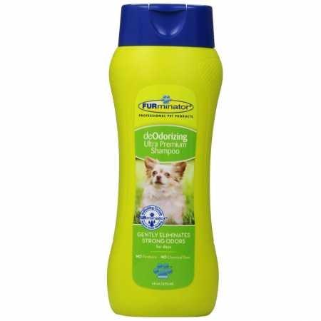 Furminator deOdorizing Ultra Premium Shampoo for Dogs (16 oz)