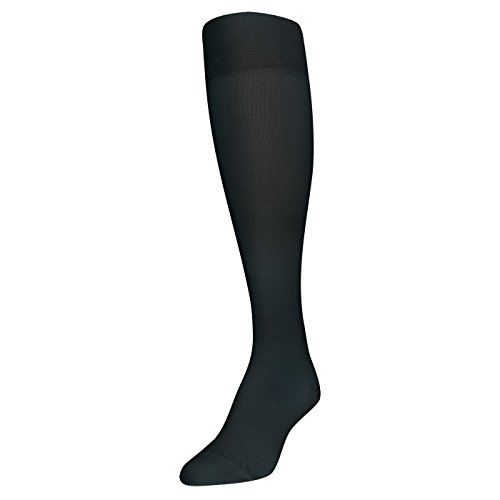 Gold Toe Women's Firm Compression Support Knee Highs, 1 Pair, black, Shoe Size: 6-9