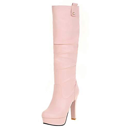 AIYOUMEI Classic Pink AIYOUMEI Boot Women's Women's TxdH7pq7
