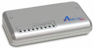 Airlink101 ASW208 8-Port 10/100Mbps Green Switch, Best Gadgets
