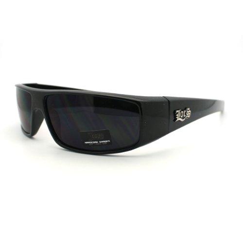 Super Dark Black Locs Sunglasses Mens Authentic Gangster Style Hardcore - Locs Authentic Sunglasses