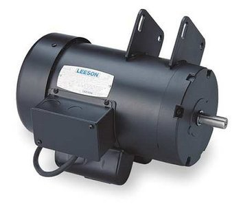 1.5 hp 3450 RPM Delta Unisaw Electric Motor 115/230 Volts Leeson Electric Motor # 120925 by Leeson