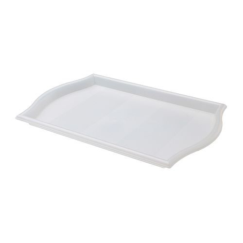 IKEA SMULA - Bandeja, 52x35 cm transparente: Amazon.es: Hogar