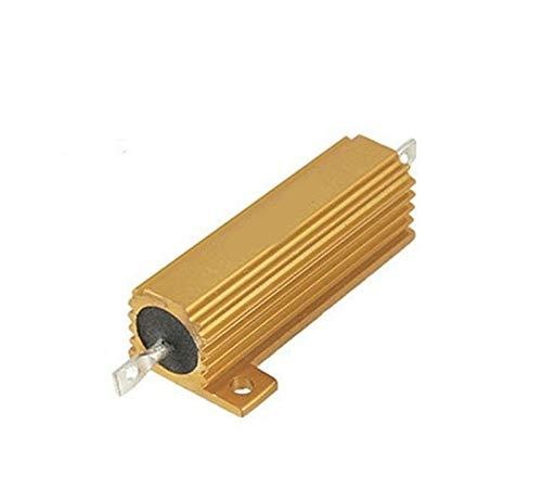 - FidgetFidget 1pcs 10 Ohm 10R 50W Watt Power Metal Shell Case Wirewound Resistor 5%