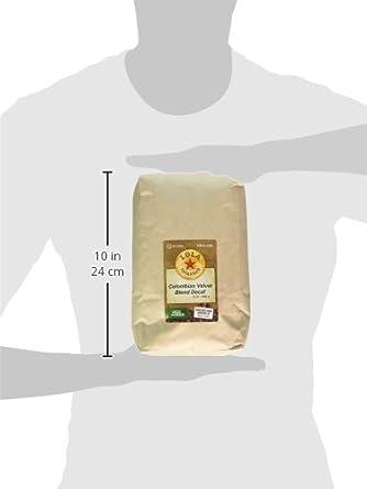 Lola Colombian Supremo grano de la Sabana, decaf, 2 libra ...