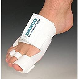 Toe Alignment Splint, One Size Fits All, White Can Be Used for Hallux Valgus, Hammer Toe and Tailor\'s Bunion