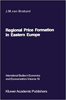 Regional Price Formation in Eastern Europe: Theory and Practice of Trade Pricing (International Studies in Economics and Econometrics)