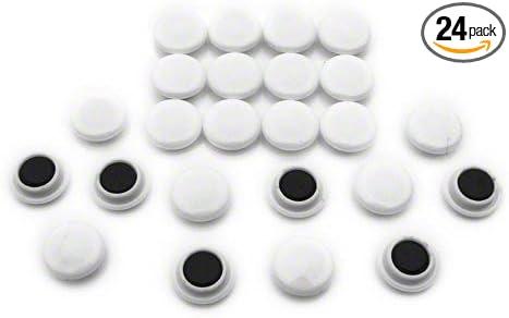 12 x 20 mm, 1kg, 10 unidades Magnet Expert F4MK12Bk-10 Gancho magn/ético