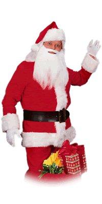Rubie's Costume Co Cotton Corduroy Santa Suit Costume - Corduroy Suit Costume