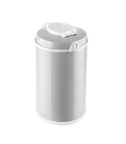 Bubula JR Steel Diaper Pail, Grey