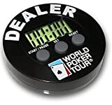 World Poker Tour (WPT) DB Dealer Button Poker Timer - Blinds Timer & Dealer Button all in 1!