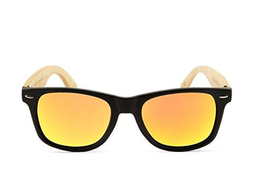 Wood modèle Lunettes bois Polarisée NEGRA soleil BLACK de SOLID en Sunglasses MIX MOSCA vpp1wgnqxC