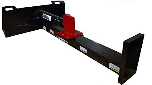 RAMSPLITTER SSUD20 Upside Down 20 Ton Universal Mount Skid Steer Attachment, 25'' Opening by RAMSPLITTER