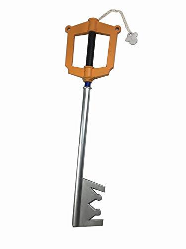 Safe House Kingdom Hearts Sora Foam Keyblade 1:1 Scale Replica PVC Core Comic Con Cosplay LARP (Kingdom Hearts House Key)