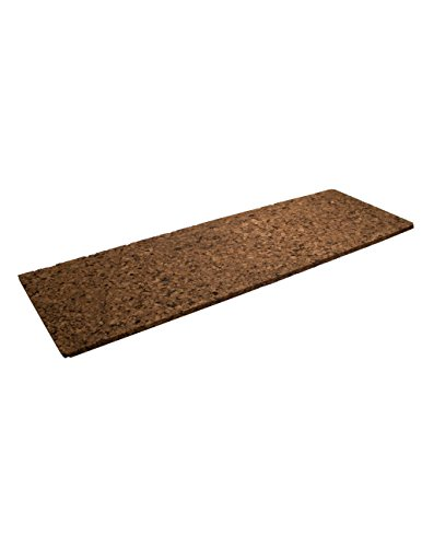Brown Cork Sheet 12'' X 36'' X 1'' by Cleverbrand Inc.